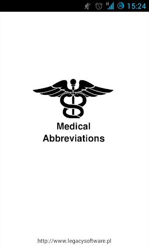 Medical Abbreviations 1.2.4 Screenshots 3