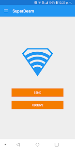 SuperBeam | WiFi Direct Share Screenshot