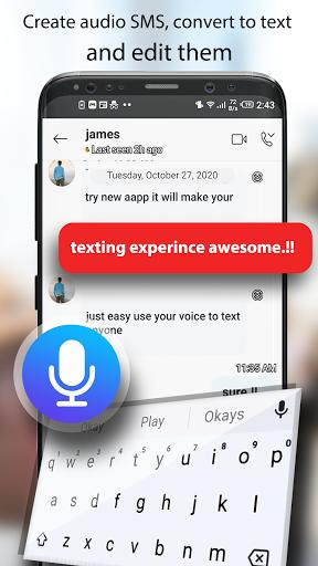 Voice Typing Keyboard: Speech to Text Converter screenshots 2