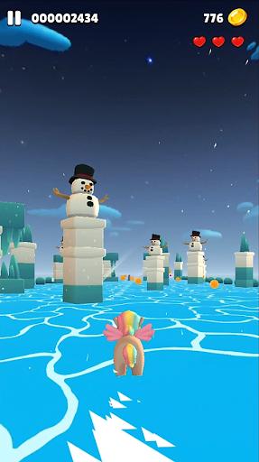 Flying Wings - Run Game with Dragon, Bird, Unicorn 2.1 screenshots 11