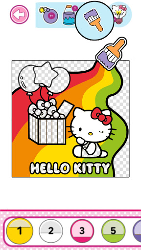 Hello Kitty Coloring Book  screenshots 5
