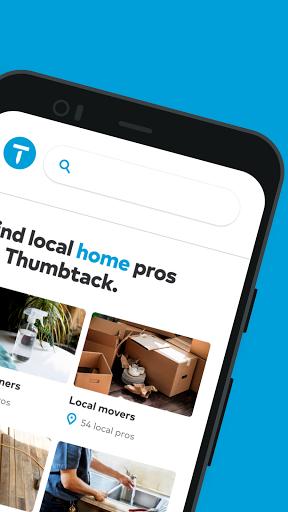Thumbtack: Hire Pros - Cleaners, Handymen, Movers  Screenshots 2