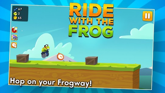 Ride with the Frog 1.0 Mod + APK + Data UPDATED 1