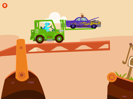 Dinosaur Rescue - Truck Games for kids & Toddlers screenshots 8