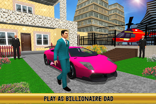Virtual Billionaire Dad Simulator: Luxury Family screenshots 1