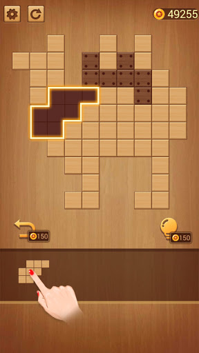 BlockPuz: Jigsaw Puzzles &Wood Block Puzzle Game apkslow screenshots 4