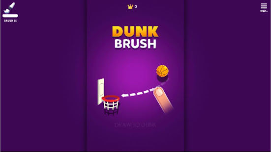 Dunkbrush 1.0.0 APK +  (Unlimited money)