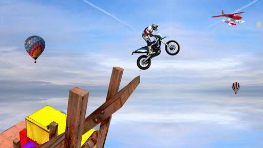 Sky bike stunt 3d   Bike Race u2013 Free Bike Games screenshots 6