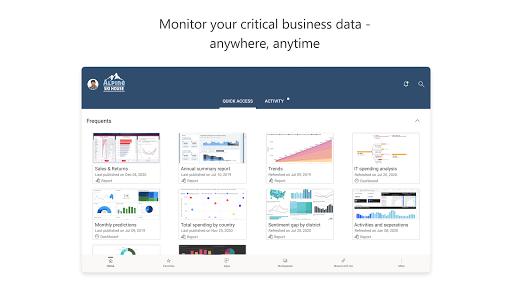 Microsoft Power BIu2013Business data analytics apktram screenshots 6