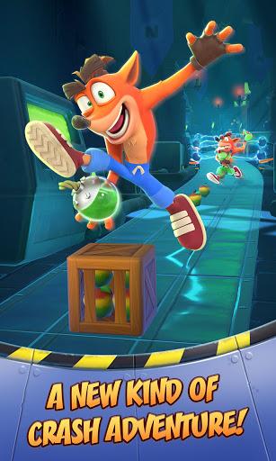 Crash Bandicoot: On the Run!  screenshots 1