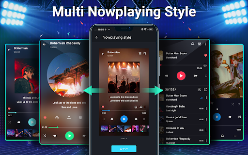 Music Player - MP3, Equalizer android2mod screenshots 20