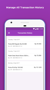 Pulsa Recharge, PLN, Pay by QR & Money Transfer for PC 5