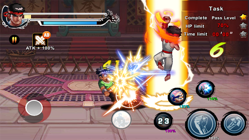 Street Fighting Man - Kung Fu Attack 5 1.0.5.186 screenshots 11