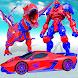 Flying Dinosaur Robot Car Transform:Dino Transport