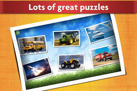 Cars, Trucks, & Trains Jigsaw Puzzles Game ud83cudfceufe0f screenshots 12