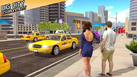 Taxi Simulator 2020 Apk İndir Güncel 2021** 5