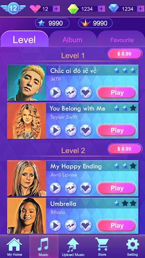 Music Piano Tiles - Music game  screenshots 2