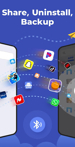 Bluetooth App Sender, Apk Share and Backup 1.1.8 Screenshots 1