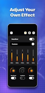 Volume Boost, Bass Boost + Equalizer Sound Booster Screenshot