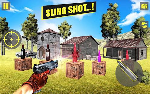 Sniper Gun Bottle Shooter 2021 Precision Shooting 14 screenshots 1