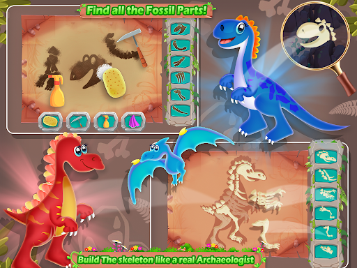 Dino Digging Quest Fossil Care Surgery Game Download Apk Free For Android Apktume Com