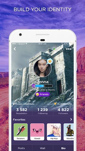 Virtual Space Amino - Geeks RP 3.4.33514 Screenshots 4