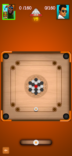 Carrom Board - Carrom Board Game & Disc Pool Game modiapk screenshots 1