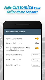 Caller Name Speaker :Announcer Screenshot