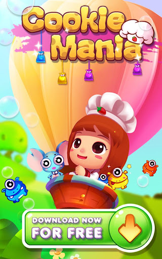 Cookie Mania - Match-3 Sweet Game modavailable screenshots 9
