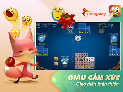 Poker VN - Mu1eadu Binh u2013 Binh Xu1eadp Xu00e1m - ZingPlay screenshots 13