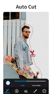 Photo Editor with Background Eraser - MagiCut 4.5.4.1 Screenshots 1