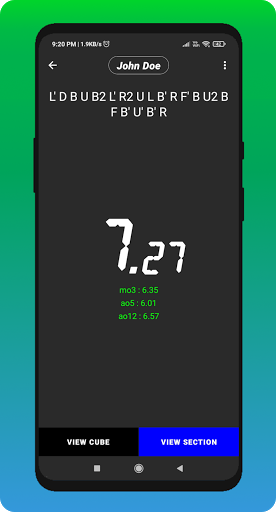 Cube Cipher - Rubik's Cube Solver and Timer  screenshots 6