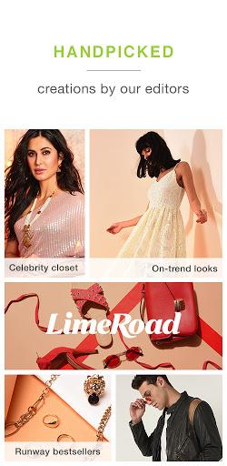 LimeRoad Online Shopping App for Women, Men & Kids  screenshots 1