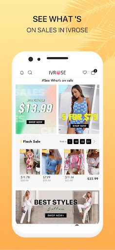 IVRose - Affordable Women's fancy Apparel android2mod screenshots 3