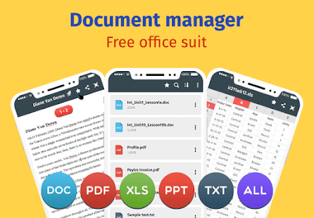 Document Manager: Free Office Suite 2.0 screenshots 1