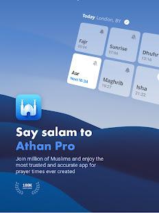 Athan Pro - Quran with Azan & Prayer Times & Qibla screenshots 11