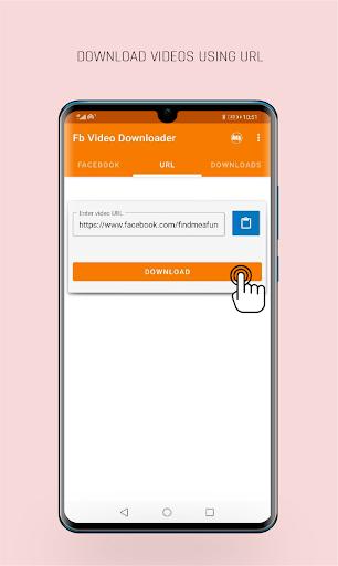 FastVid: Video Downloader for Facebook 4.4.2 Screenshots 1