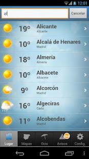 Tiempo y Temperatura 1.2.4 Screenshots 3