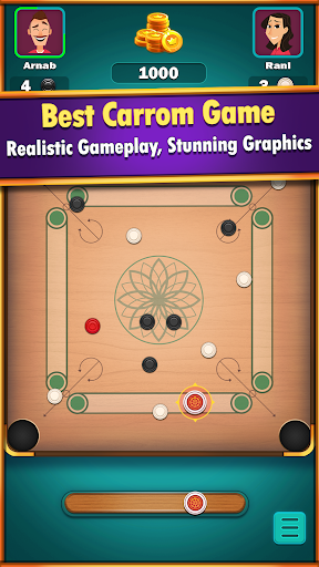 Carrom World : Online & Offline carrom board game apkslow screenshots 1