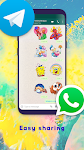 screenshot of New Stickers for WA and WAStickerApps 2020 Love