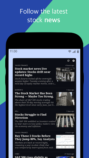 Foto do Stock Widget
