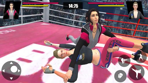 Women Wrestling Ring Battle: Ultimate action pack apkslow screenshots 3