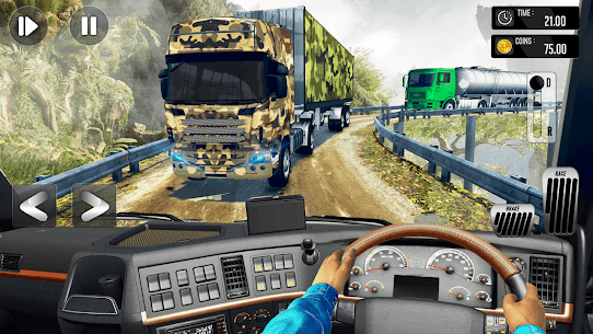 Army Truck Driving Simulator Game-Truck Games 2021 8