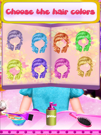 Fairy Fashion Braided Hairstyles games for girls apkpoly screenshots 4