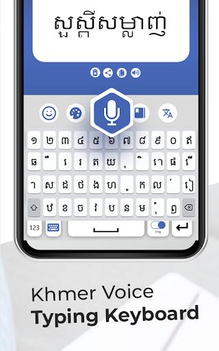 Khmer Voice Typing Keyboard u2013 Speech to text App modavailable screenshots 7