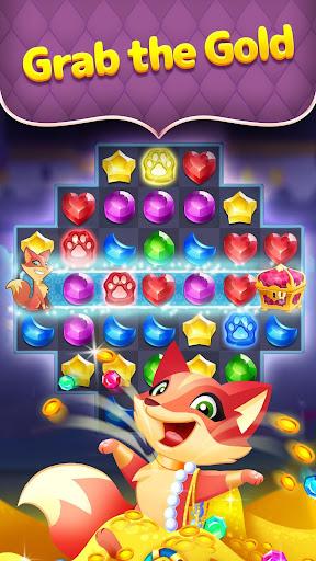 Genies & Gems - Jewel & Gem Matching Adventure modiapk screenshots 1