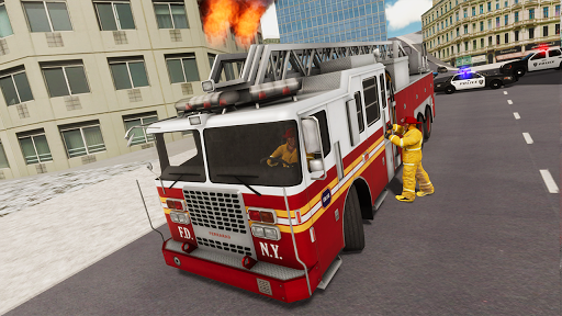Fire Truck Driving Simulator 1.34 Screenshots 13