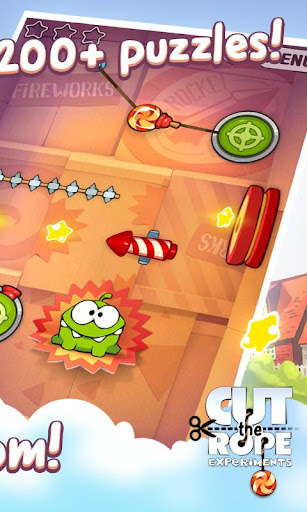 Cut the Rope: Experiments 1.11.0 Screenshots 2