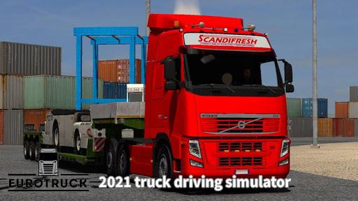 Euro Truck Driving 2021 High Truck Simulator  screenshots 2