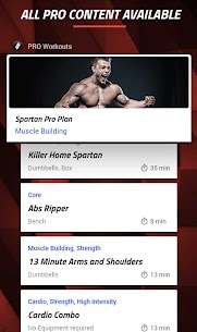 MMA Spartan System Home Workouts  Exercises Pro Apk Download 2021 4